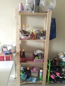 IKEA wooden rack