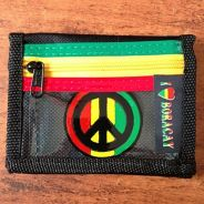 Peace Sign Rasta Purse