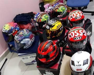Helmet kyt ft tribute rosso arai