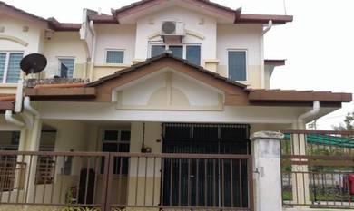 Double storey taman sri gading (corner lot)