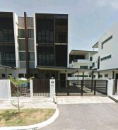 Taman Huising Triple Storey Luxury Semi D House For Sale
