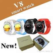 New V8 Smart Watch Touch Screen Camera Promo