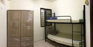Fully furnished - apartment pusat komersial seksyen 7, s.alam blok q