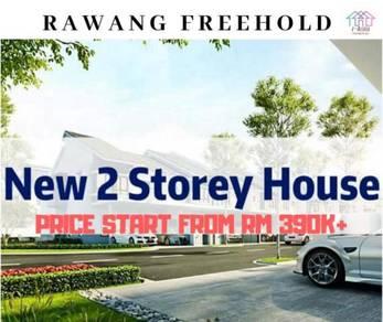 Freehold 2 storey at rawang