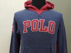(S)POLO RALPH LAUREN Spell Out Hooded -150 fit S