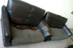 Used cavenzi sofa garage let go