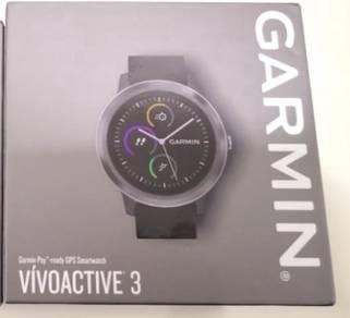 Garmin VivoActive 3 Black Slate