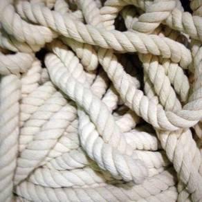 3 Strand twistes cotton rope