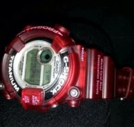 Casio Gshock Frogman GW8201wccs (jelly red)