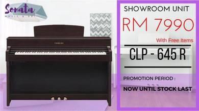 Yamaha Digital Piano Clavinova CLP645 R (Opened)