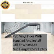 NEW Made Vinyl Floor with Install f43t5e3