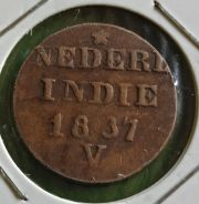 Duit Syiling Nederl Indie 1 Ct 1837
