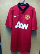 Original Manchester United home 2013/2014 size S