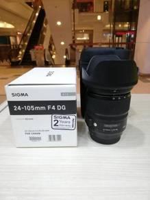 Sigma 24-105mm f4 dg os hsm art lens-canon