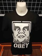 OBEY Premium High Quality Front Logo T-Shirt