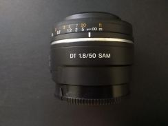 Sony Alpha potrait lens 50mm f1.8 dt SAL A mount