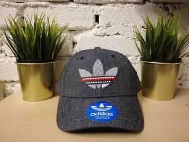 ADS Grey Big Logo Baseball Snapback Cap