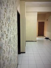 Batu Caves centrepoint apartment, Gombak 3R1B for rent