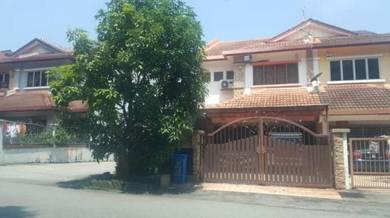 [END LOT] 2 Storey Terrace House, Bukit Rahman Putra 6, Sg Buloh