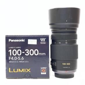 Panasonic Lumix G Vario 100-300mm f4-5.6 Lens