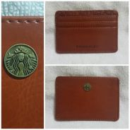 Authentic Starbucks 2016 3 Slots Card Caddy Holder