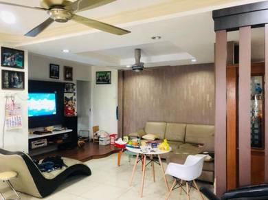 Fully Renovated Double Storey Corner House at Parit Buntar