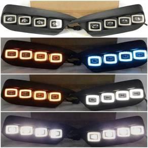 Honda Civic Fc daylight with signal buggati design