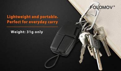 Folomov Keychain Battery charger w Powerbank 18650