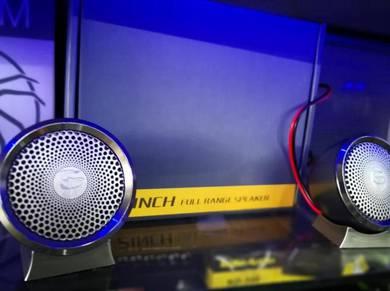 Gp 2inch full range speaker tweeter audio