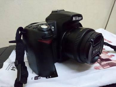 Nikon D90+50 MM lens