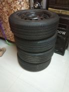 Used tyres with rims