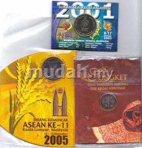 Commemorative coin card set B 2017