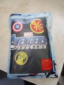 Avengers t shirt slip mat beg klac