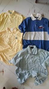 Tshirt collar vintage combo size M L