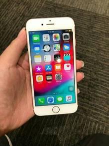 Iphone 6s 64gb fullset kecuali earphone