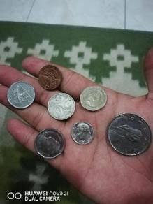 Duit syilling luar negara Old coin