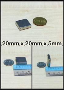Neodymium magnet 20x20x5mm