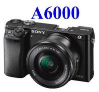 NEW Sony Alpha A6000 with 16-50mm Lens +16GB+Bag