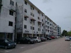 FULL LOAN Flat Taman Daya (Low Cost For First Time Buyer)