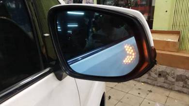 Toyota alphard anh10 side mirror glass signal lamp