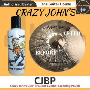 Crazy Johns CJBP Brilliant Cymbal Cleaning Polish