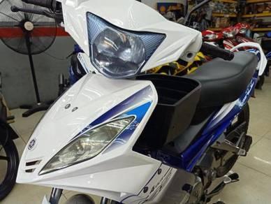 Evo LC Color Putih Biru Cantik Engine Cantik