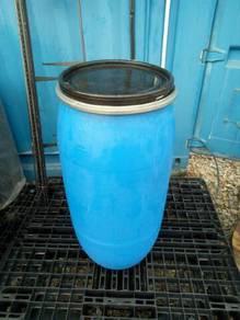 Plastik tong biru 160liter