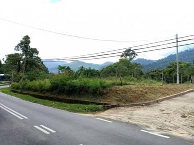 TEPI JALAN & FREEHOLD | Tanah Pertanian 1.2 Ekar Janda Baik Bentong