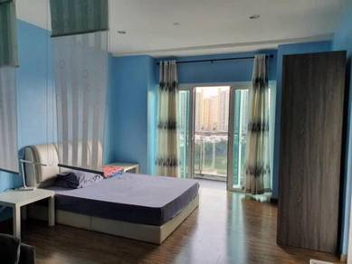 Zetapark condo 1 bedroom FULLY FURNISHED corner unit