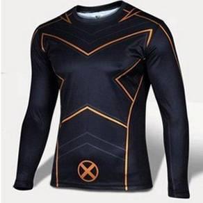 Superhero D54 Quick Dry Sport Long Sleeve T Shirt
