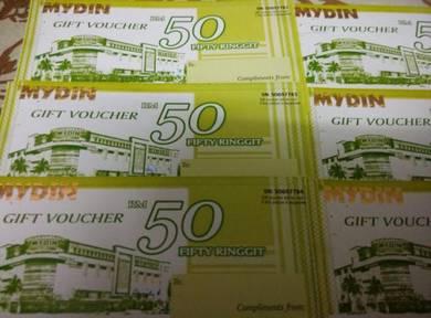 RM300 Mydin Shopping Vouchers