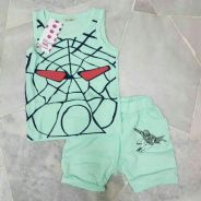 [Age 2~5] Combo Set Sleeveless Top + Ber ( 4201 )