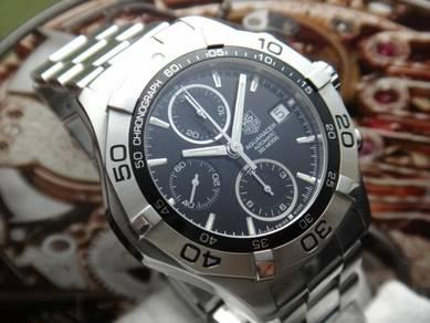 189) tag heuer aquaracer 300m chronograph auto
