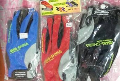 AWASHIMA Glove / Sarung Tangan Pancing Fish Gloves
